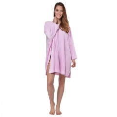 RAIKOU Fleece Poncho Capes Coucher Nachthemd One Size
